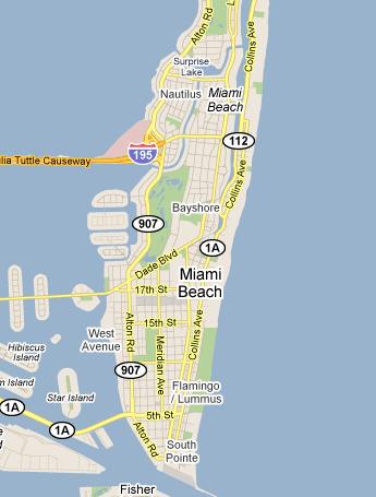 hosteldetails miami beach directions